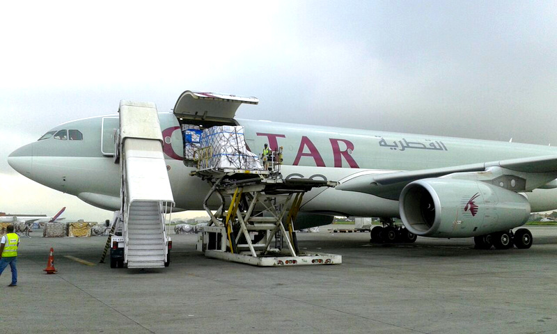 Direct Relief Airlift Lands in Nepal