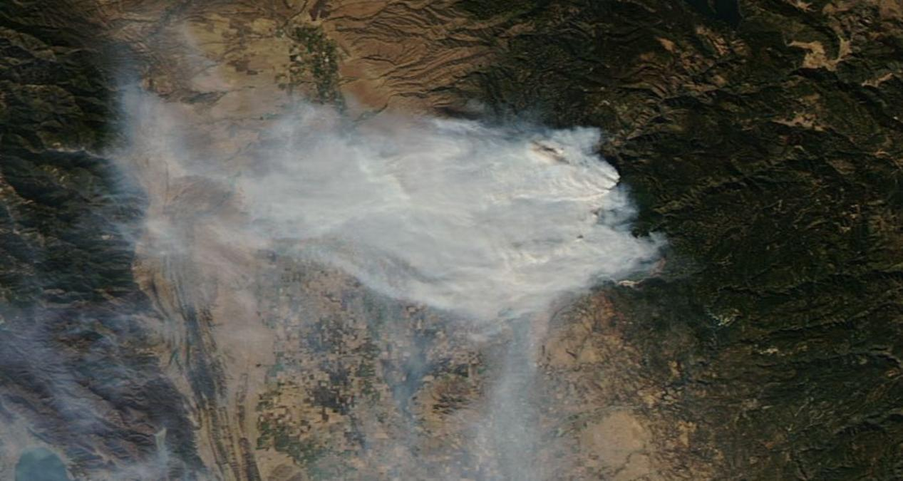 Smoke and Fire From Space: Wildfire Images From NASA Satellites