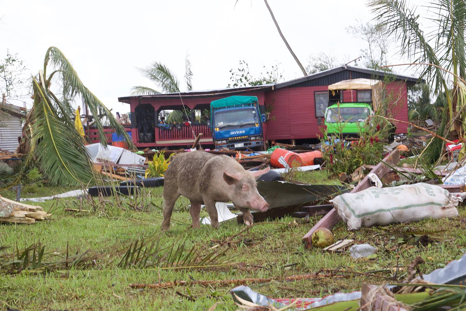 Cyclone Winston Damage