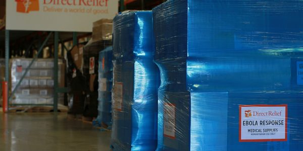 Twelfth Shipment of Life-Saving Ebola Aid Arrives in Liberia