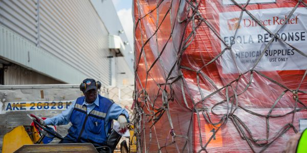 First Ebola Treatment Unit for Local Health Workers Arrives in Sierra Leone