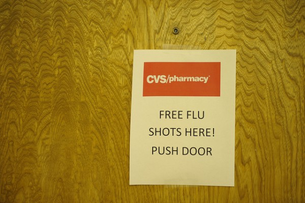 CVS Flu Clinic at Healing Hands Ministries in Dallas, TX. Photo by Mark Perlstein