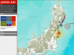 Japan Aid Interactive Map - Direct RElief