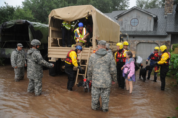 Colorado Flood Emergency Response