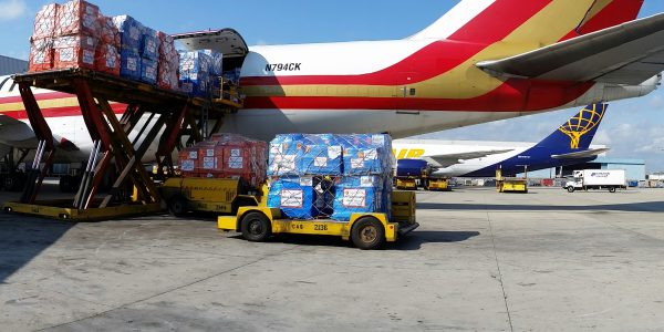 Ebola Response: Humanitarian Charter 747 Brings 100 Tons of Medical Aid to Fight Outbreak