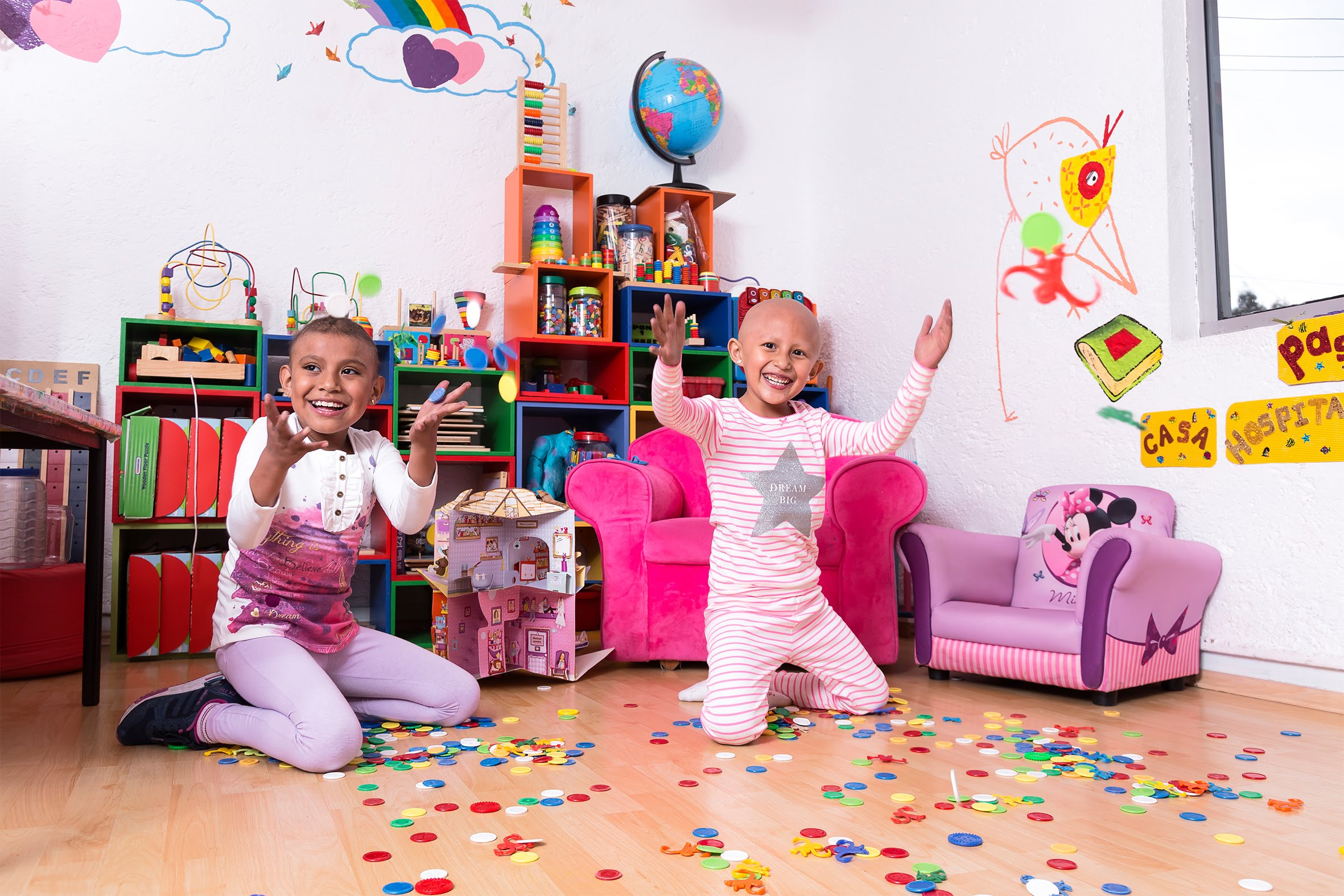 Casa de la Amistad offers free housing and services for children undergoing cancer treatment in Mexico City. (Photos courtesy of Casa de  la Amistad)