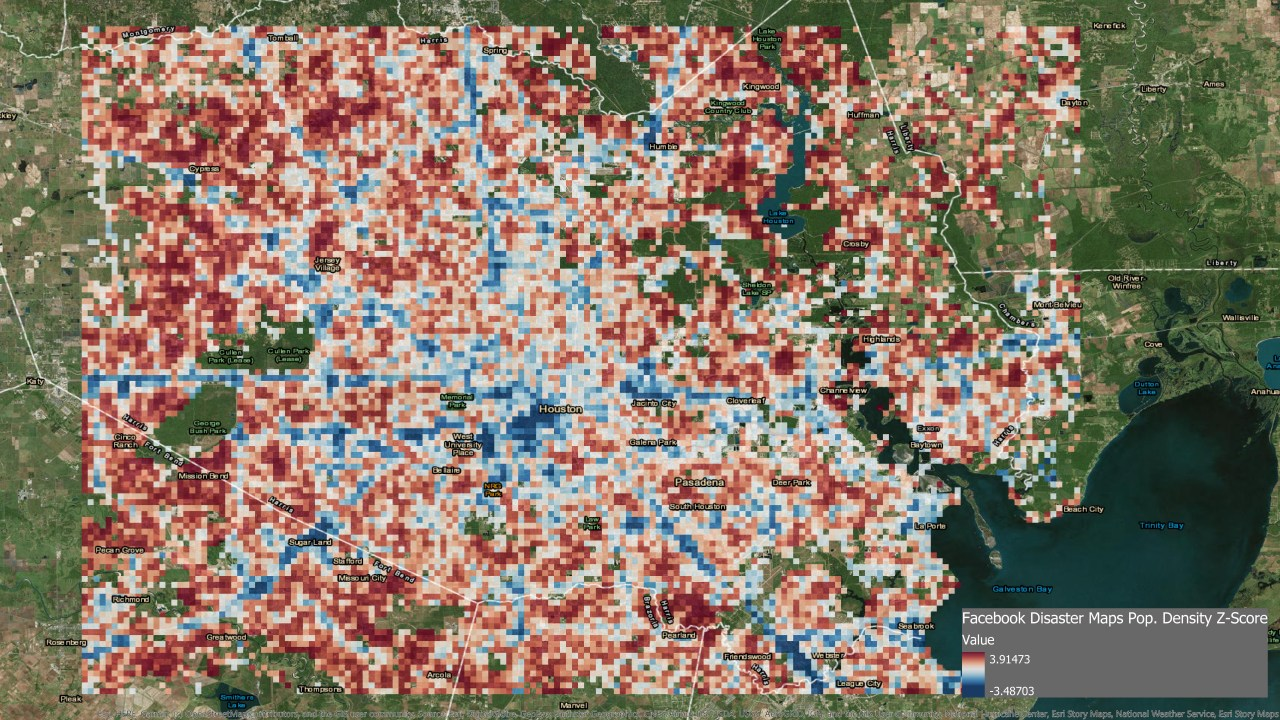 Tracking Population Data Could Change Disaster Response