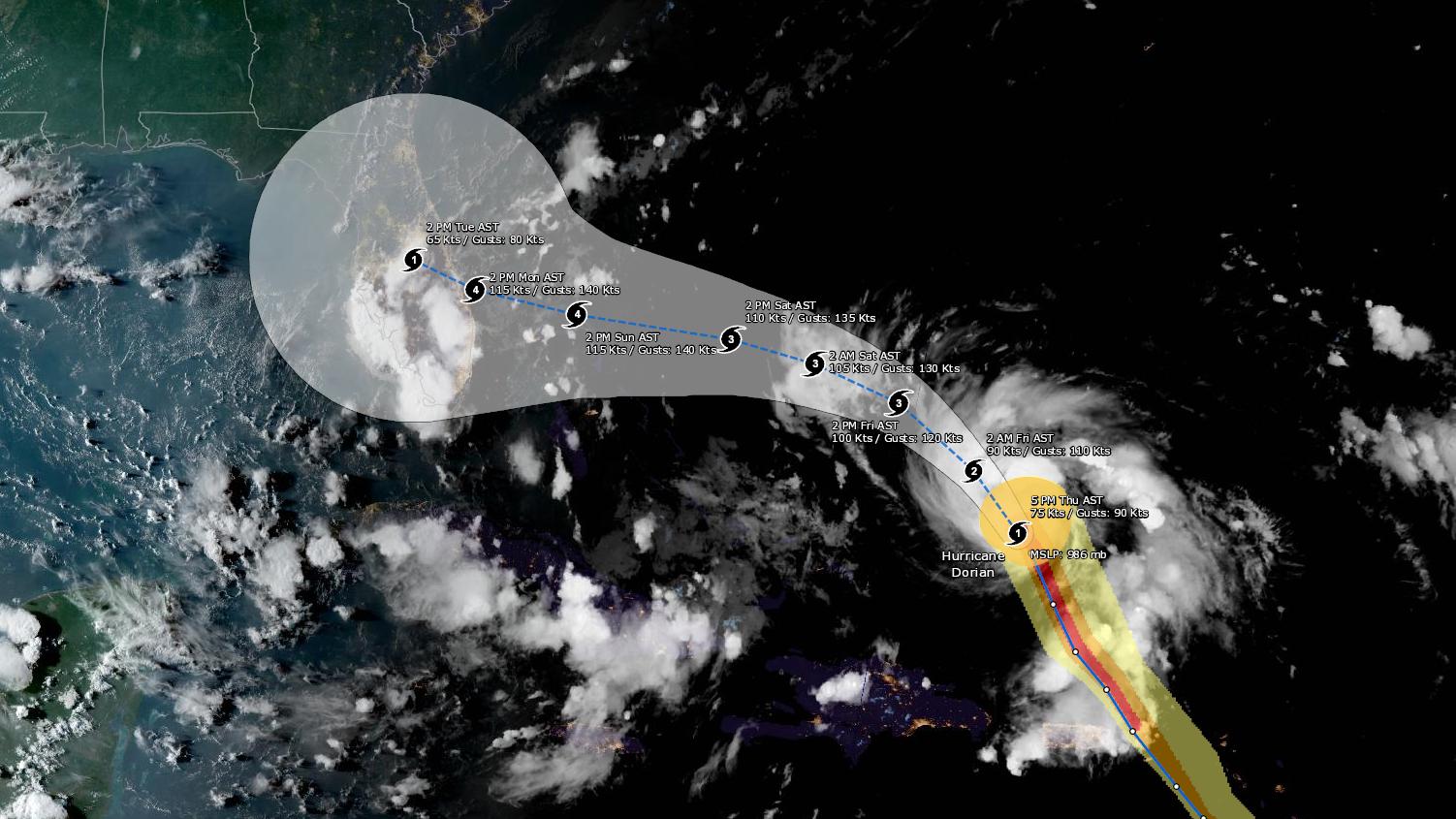 Earthstar Geographics | NOAA/NOS/OCS nowCOAST, NOAA/NWS/NHC, NOAA/NWS/CPHC