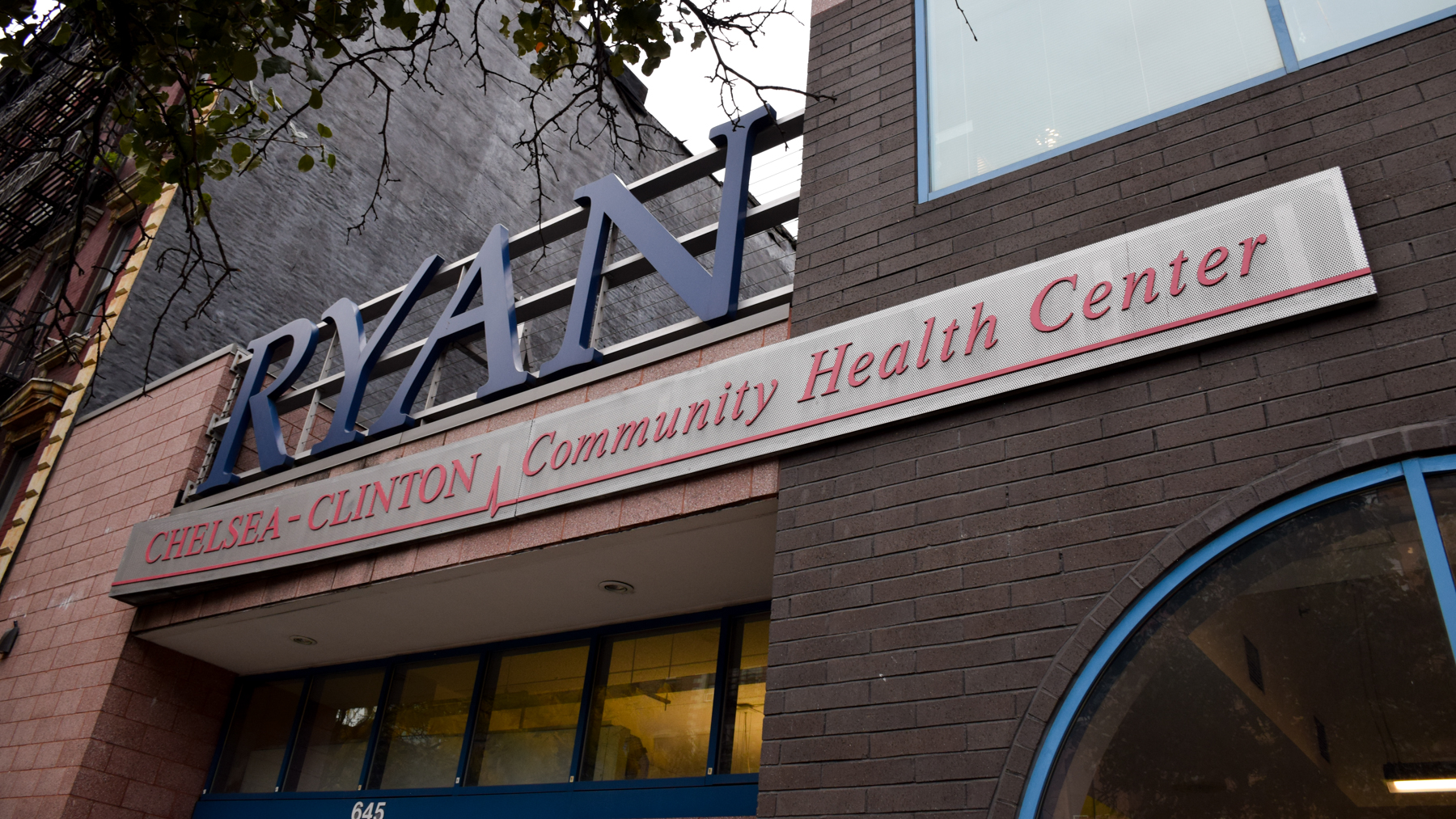 Gentrification and homelessness are simultaneously impacting the neighborhood around Ryan Health's Chelsea-Clinton branch in Hell's Kitchen, New York City. More than 80 percent of health center's patients earn an income below the federal poverty line. (Noah Smith/DIrectRelief)