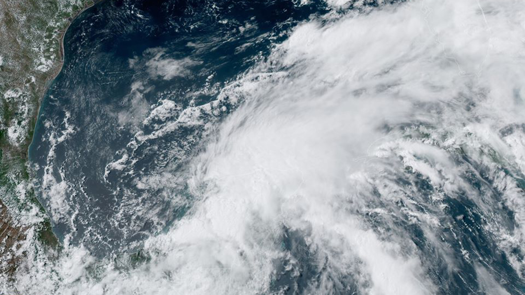 Tropical Storm Cristobal, in an image released by the National Hurricane Center on the afternoon of June 4, 2020. (Photo courtesy of the National Hurricane Center)