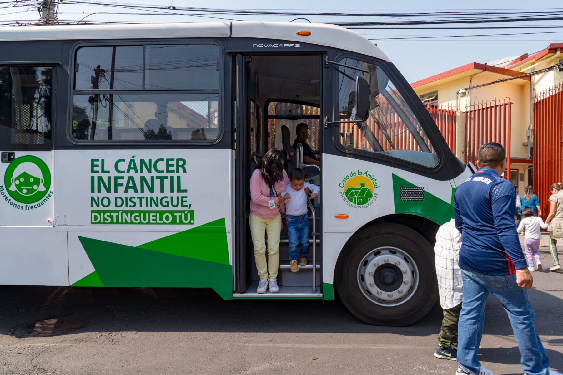 Casa de la Amistad provides transportation services to pediatric cancer patients in Mexico. (Photo courtesy of Casa de la Amistad)