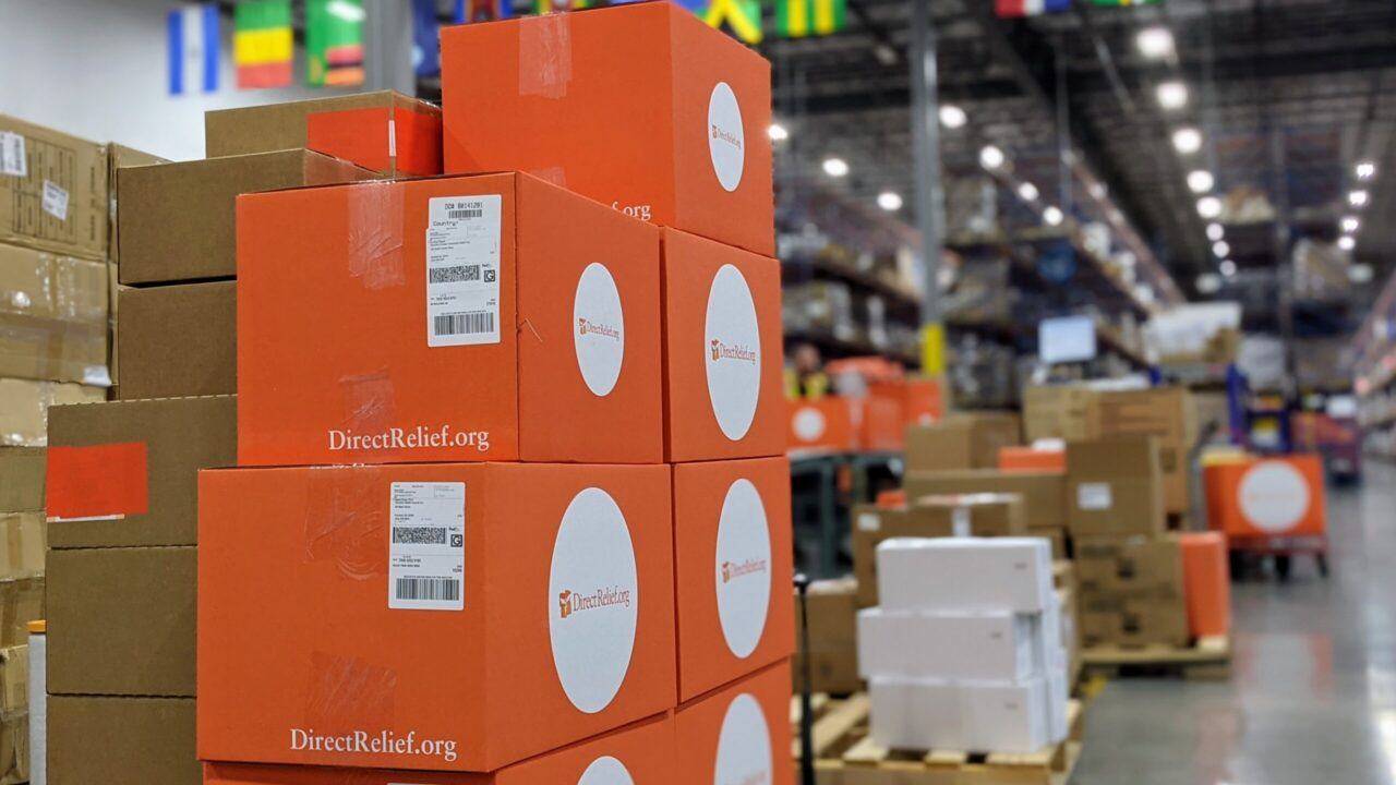 Medical aid prepared for delivery to health centers and clinics across the US. (Photo: Tony Morain)