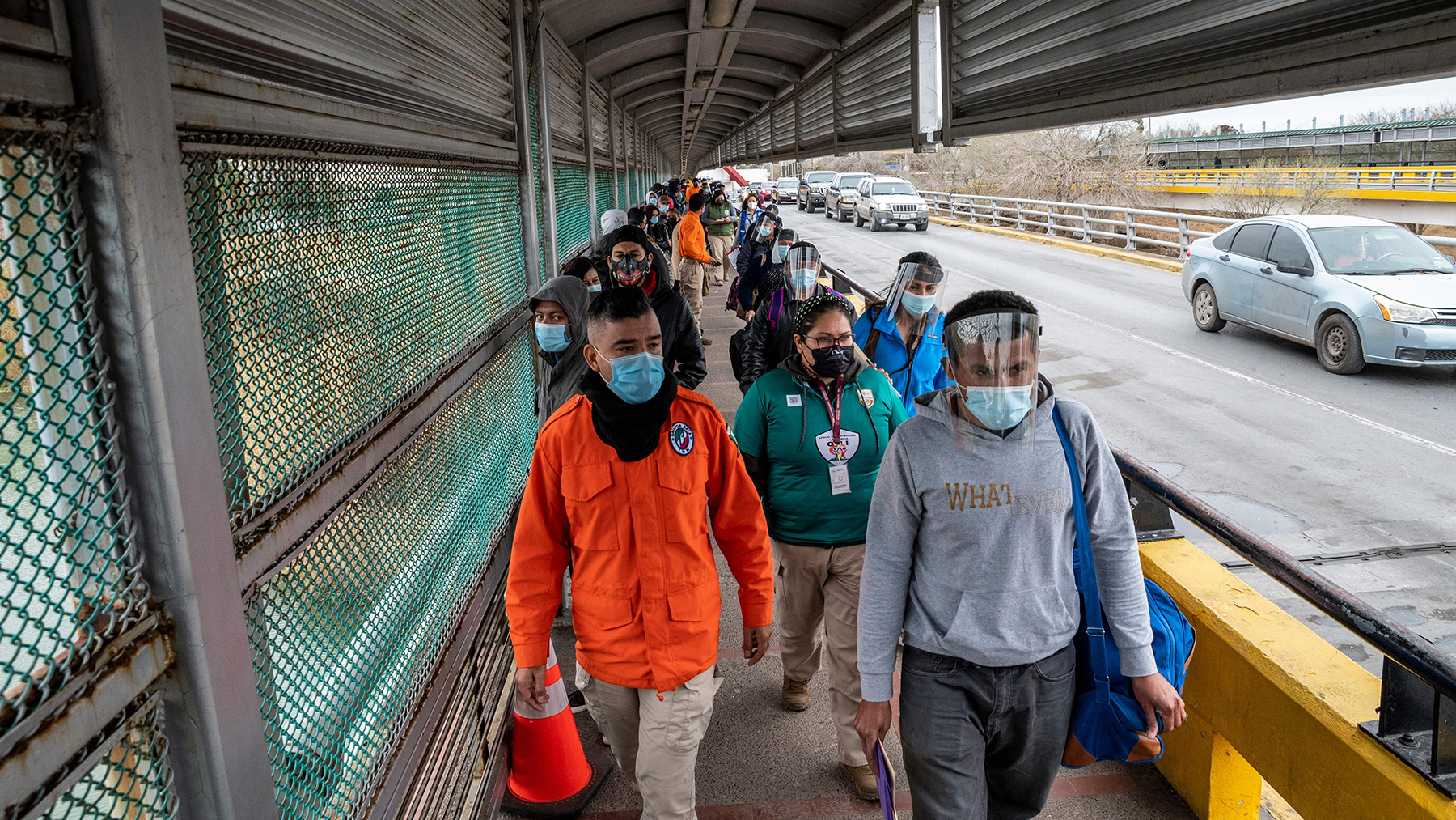 Health providers on the U.S./Mexico border are working to treat health concerns of people who have recently arrived in the country. (Photo by Sergio FLORES / AFP)