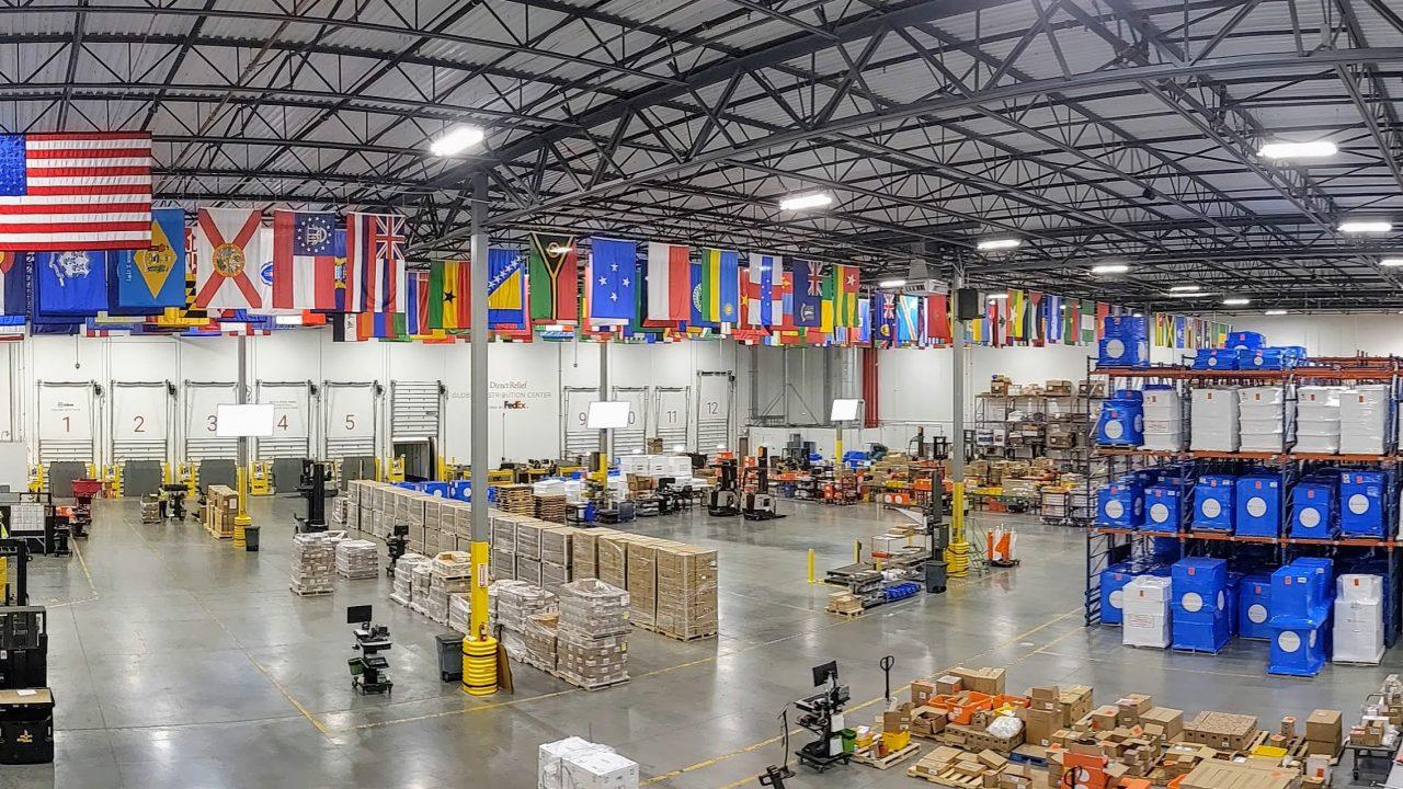 Direct Relief's warehouse in California. (Photo: Tony Morain)