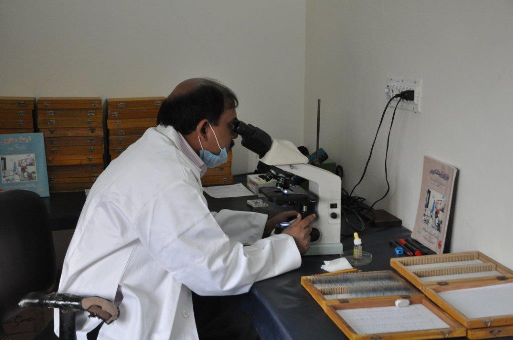 Bethania Hospital has a modern laboratory.