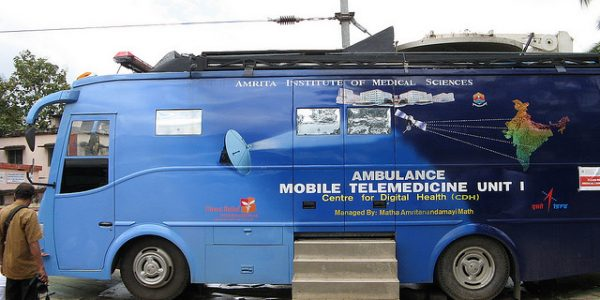 Direct Relief Partner Deploys Telemedicine Van and Staff to Help Flood Survivors