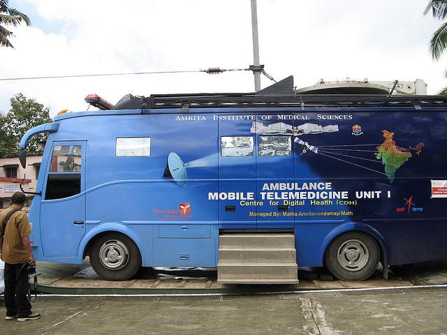 AIMS India Telemedicine Van