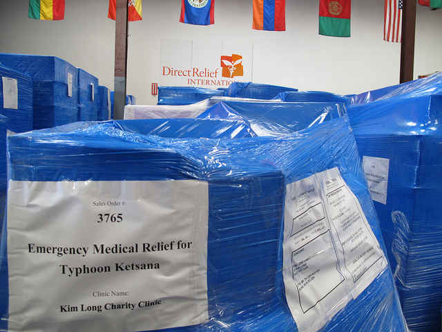 Typhoon Ketsana Emergency Shipment