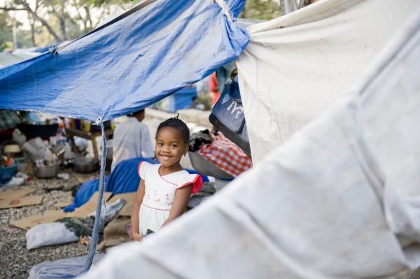 Haiti child