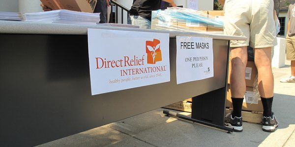 Direct Relief, Medical Reserve Corps Open Mask-Distribution Sites in Santa Barbara