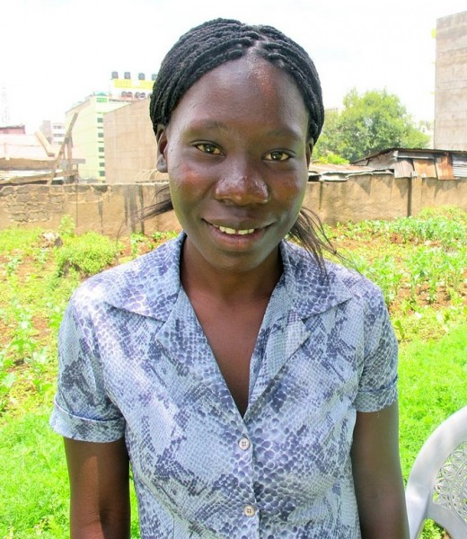 Salima*, 26, was referred  for obstetric fistula treatment and is part of a rehabilitation program.