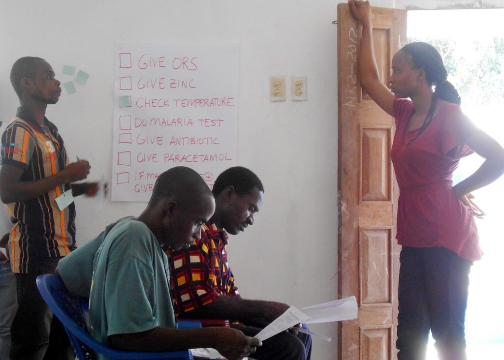 Frontline Health Workers Liberia