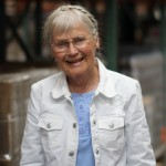 Ingrid Lindgren has volunteered at Direct Relief for 15 years.
