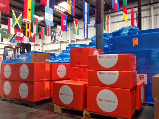 Direct Relief's Warehouse