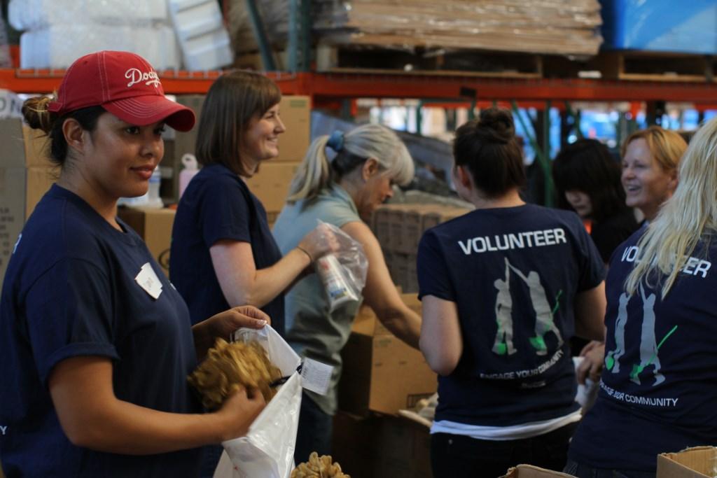 Volunteers Pack Supplies Direct Relief