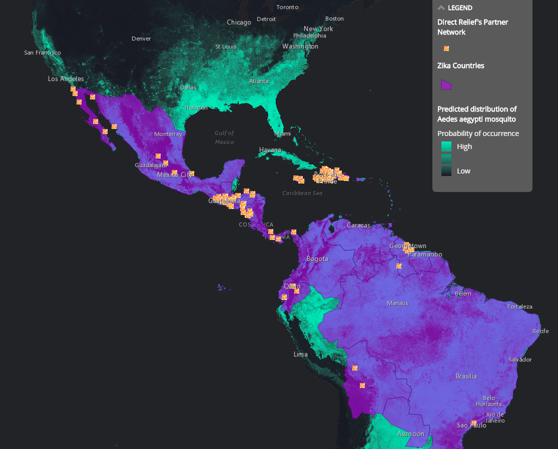 Zika Virus Mapping The Outbreak - Argentina global map