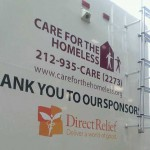 Close Up of Sponsor Thank You Panel Direct Relief Feature