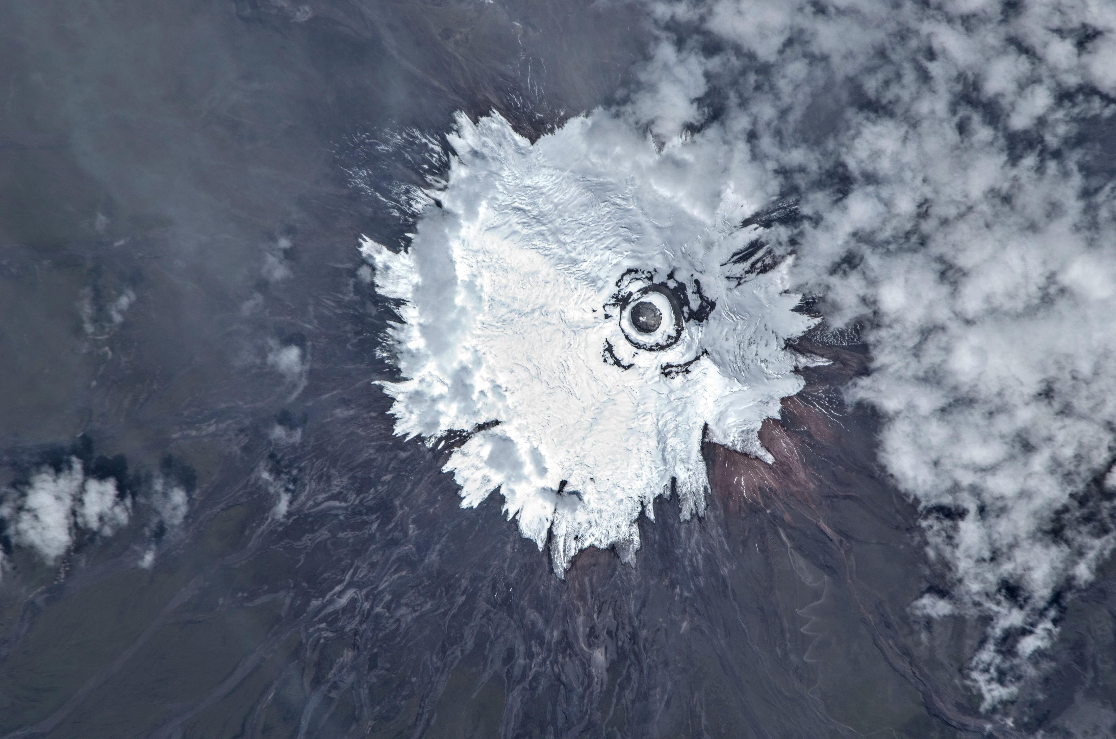 Cotopaxi Volcano, Ecuador Credit - NASA