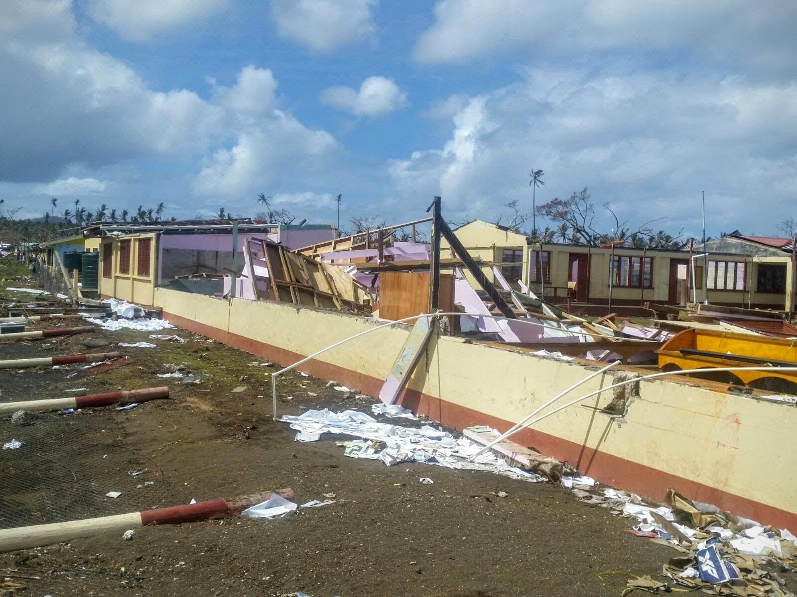 Emergency Update: Fiji, Cyclone Winston Response