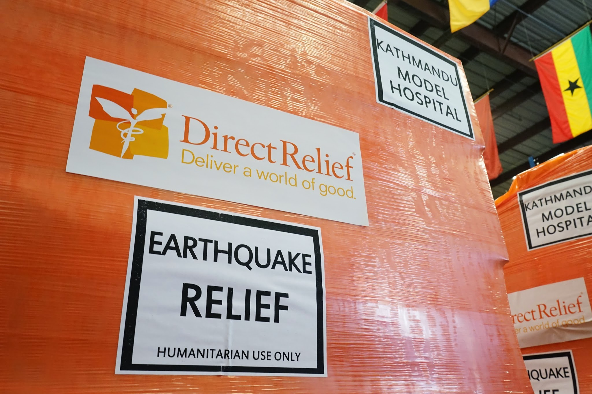 Nepal Earthquake Medical Relief Supplies