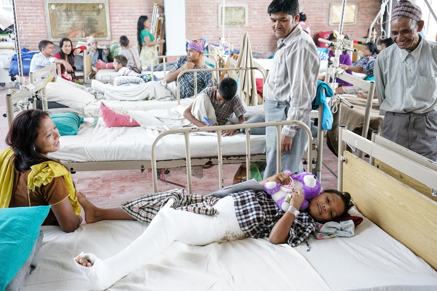 Nepal Earthquake Hospital