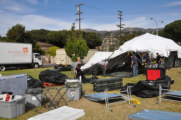 2012 Statewide Medical & Health Exercise - Field Treatment Site Setup