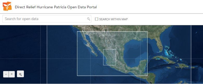Direct Relief Open Data Portal