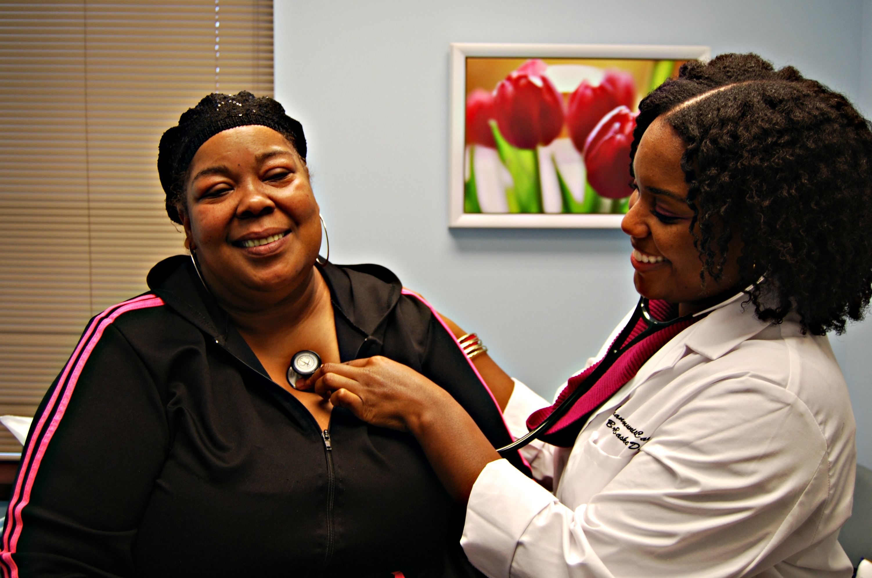 A patient receives care at Covenant. Courtesy photo.