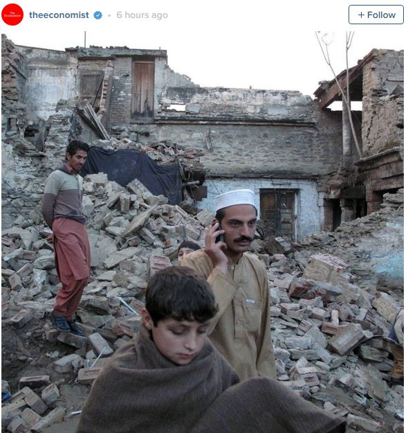 Pakistan Afghanistan Earthquake. Photo: The Economist / Instagram