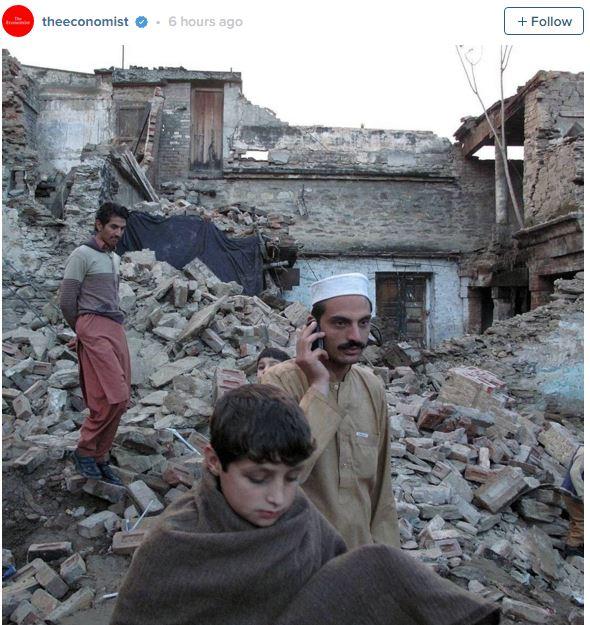 Pakistan Afghanistan Earthquake. Photo: The Economist / Instagram