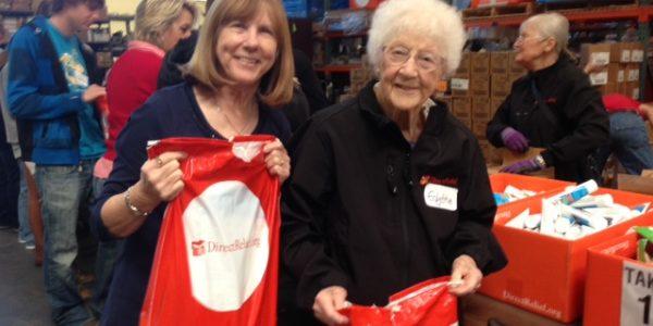 Local Volunteers Help Their Neighbors in Need