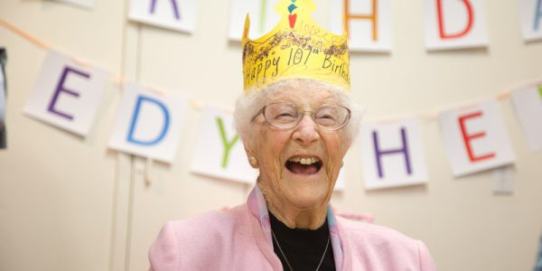 Chief for a Day: Celebrating Edythe's 107th Birthday