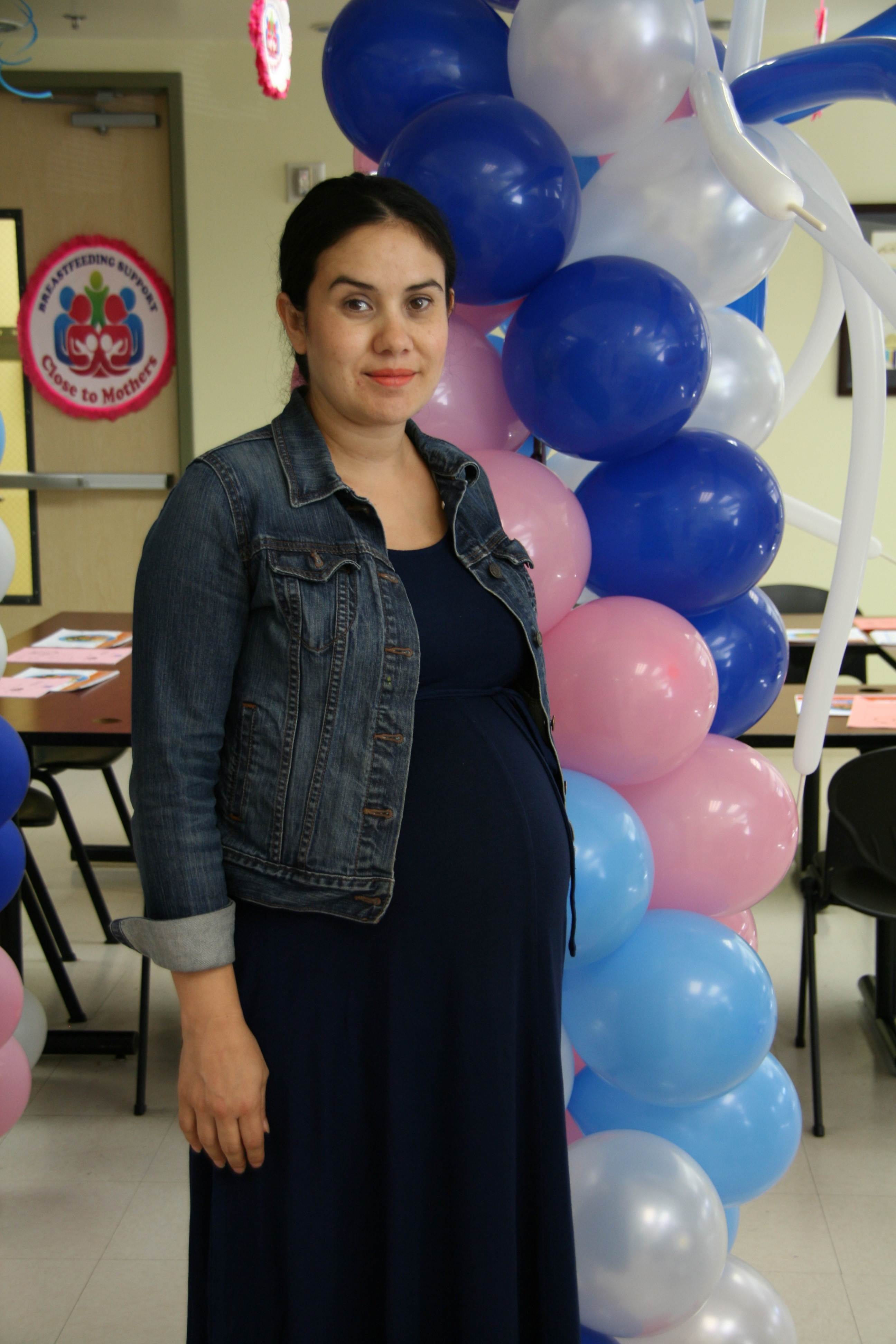 Carmen Escobedo is receiving pregnancy care through Eisn'ers Women's Health Center. Photo courtesy of Eisner Pediatric & Family Medical Center.