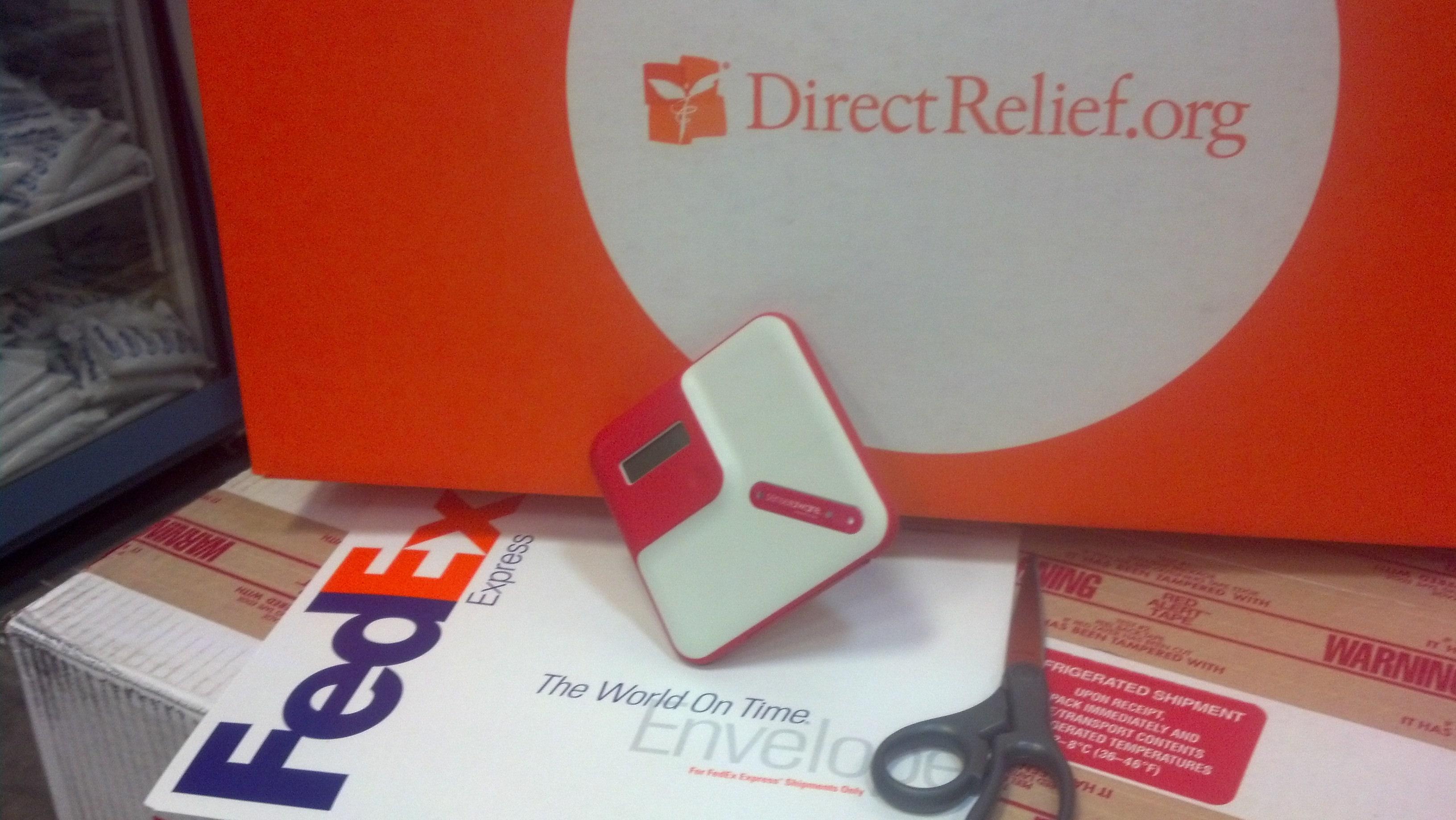 SenseAware powered by FedEx helped make Direct Relief's tornado response more efficient.