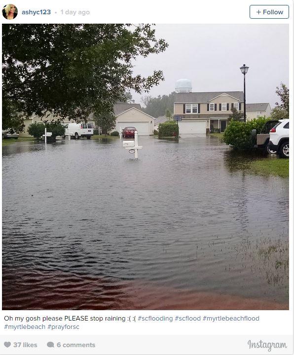 South Carolina Floods Credit Ashyc123