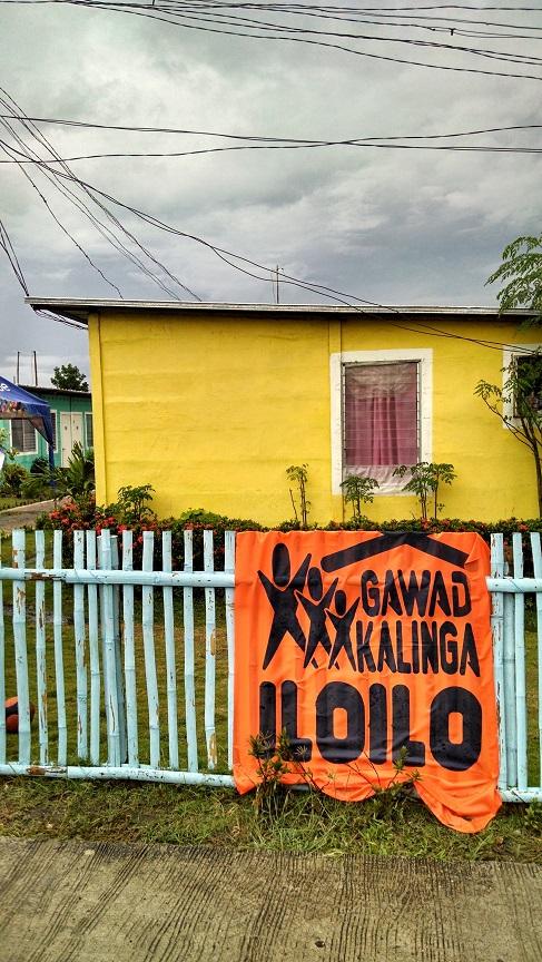 Gawad Kalinga MIMOSA paint