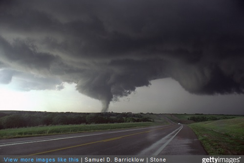 Getty Image tornado