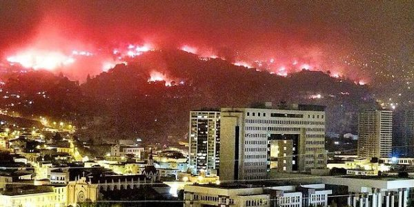 Responding to the Fire in Valparaíso, Chile