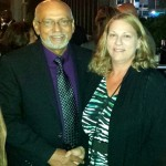Guyana President Donald Ramotar and Direct Relief's Susan Fowler