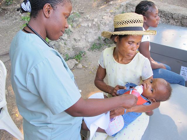 Haiti Polyclinique Baby